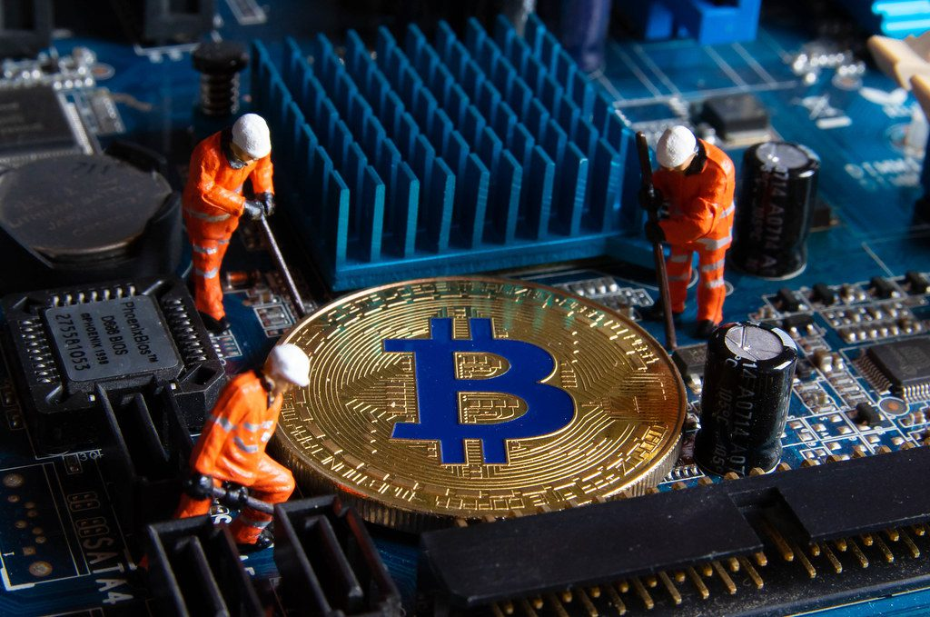 Bitcoin mining toy figures