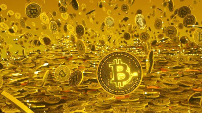 Bitcoin shower