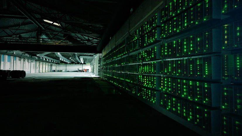 Green mining hall