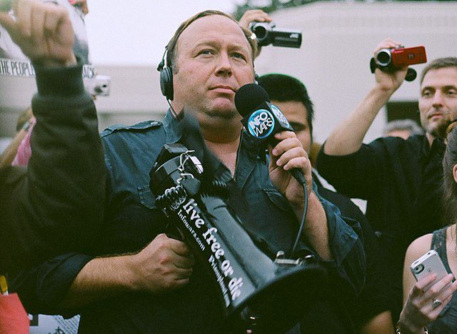 Alex Jones microphone