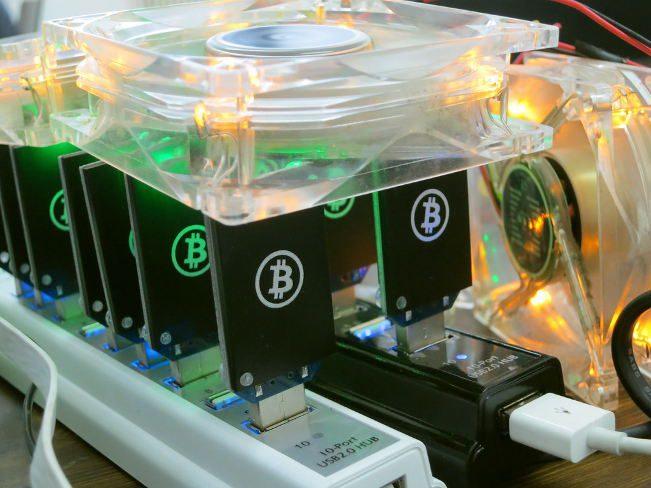 Bitcoin mining gear