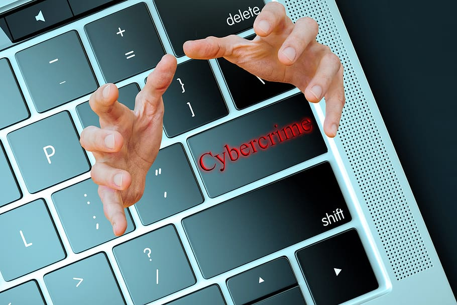 Cybercrime hands