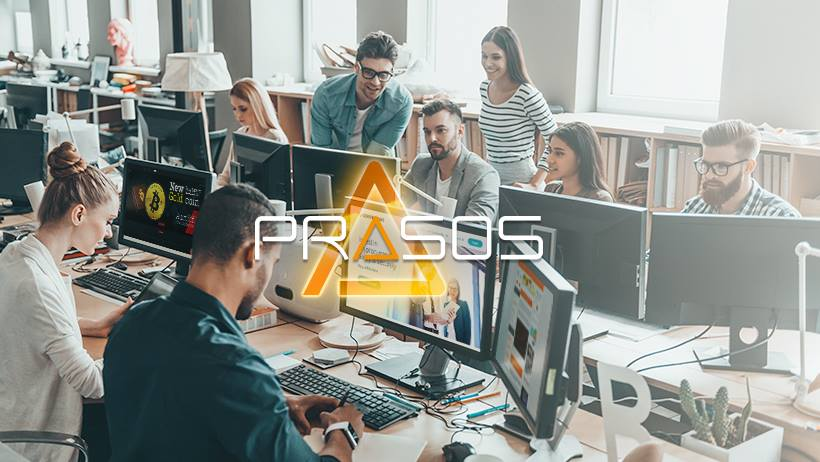 Prasos logo office