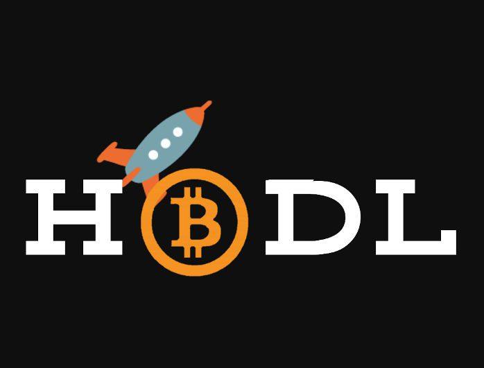 Hodl bitcoin rocket