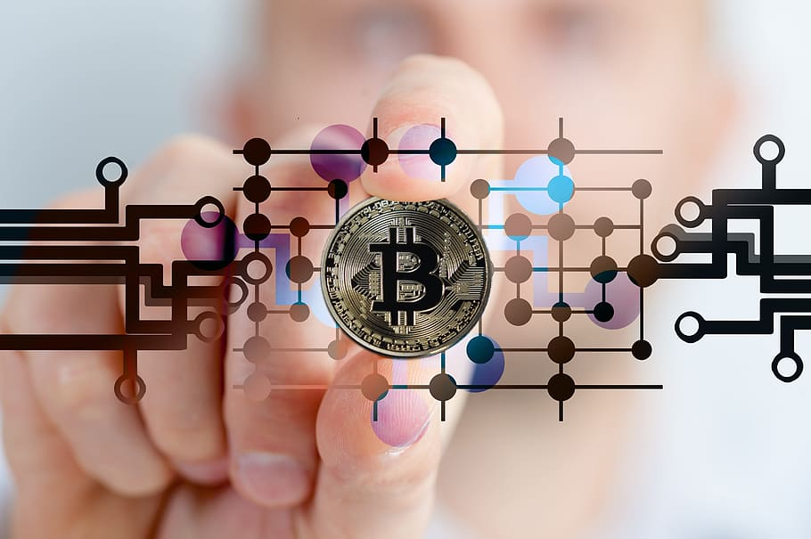 Bitcoin pattern fingers