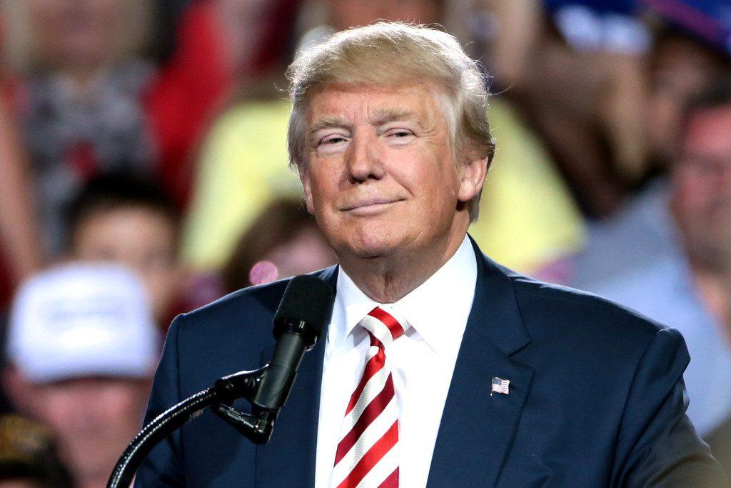 Trump smirk