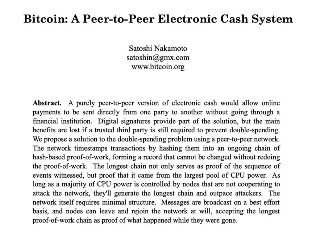 bitcoin whitepaperi